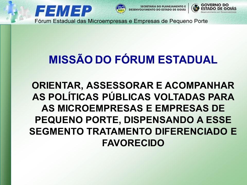 MISSÃO DO FÓRUM ESTADUAL