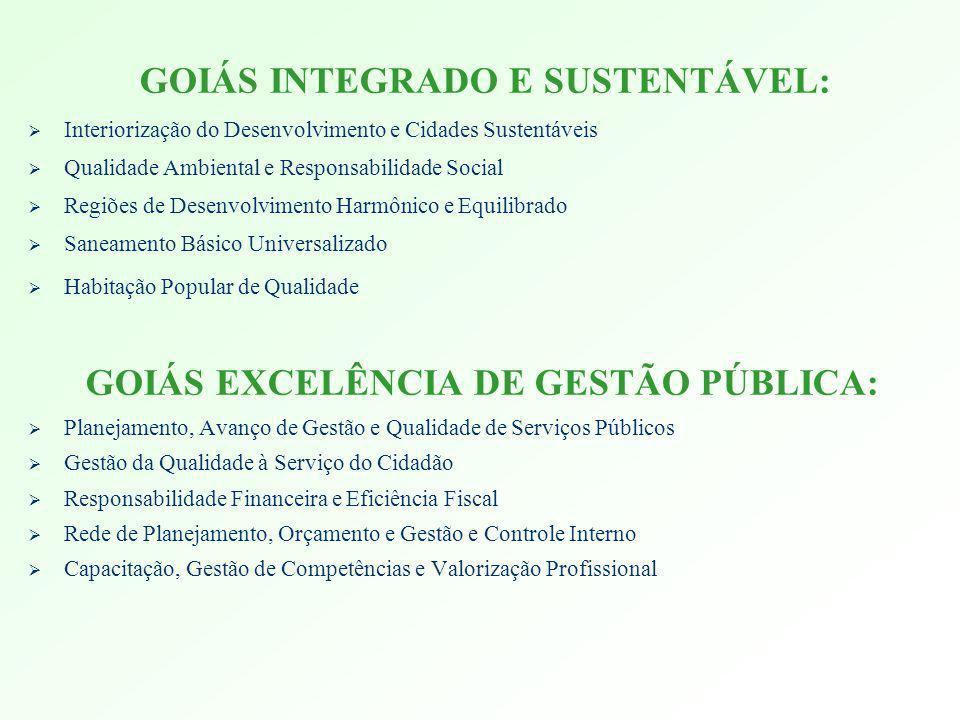 GOIÁS EXCELÊNCIA DE GESTÃO PÚBLICA: