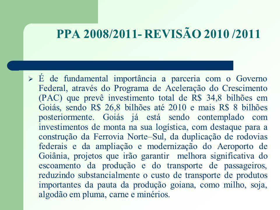 PPA 2008/2011- REVISÃO 2010 /2011