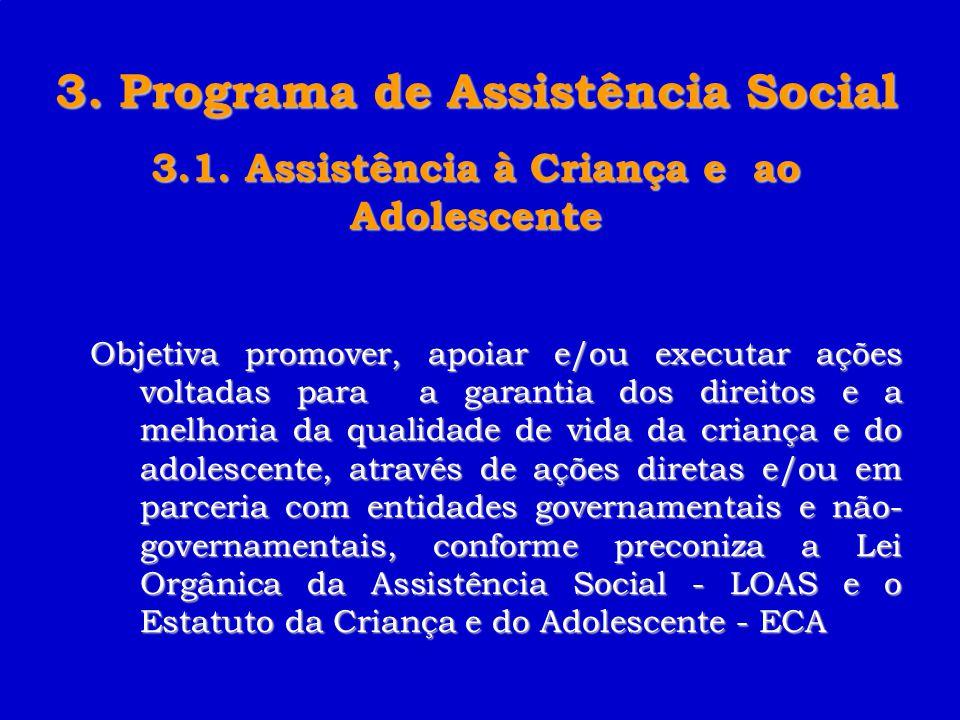 3. Programa de Assistência Social