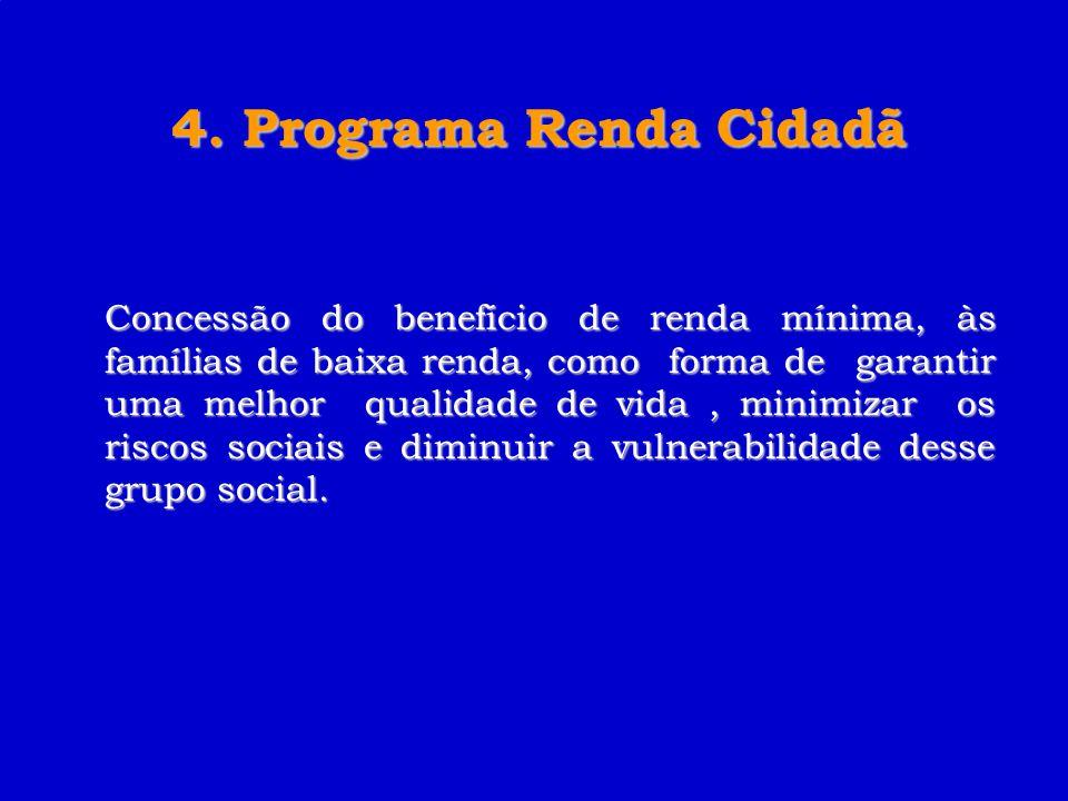 4. Programa Renda Cidadã