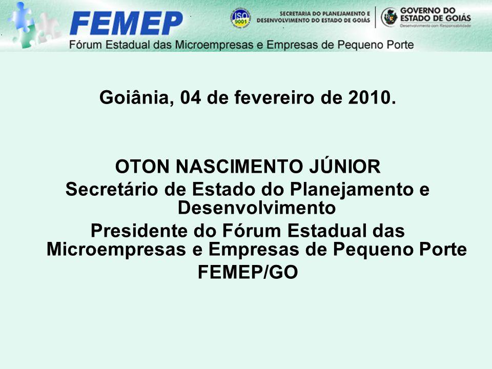 Goiânia, 04 de fevereiro de 2010.