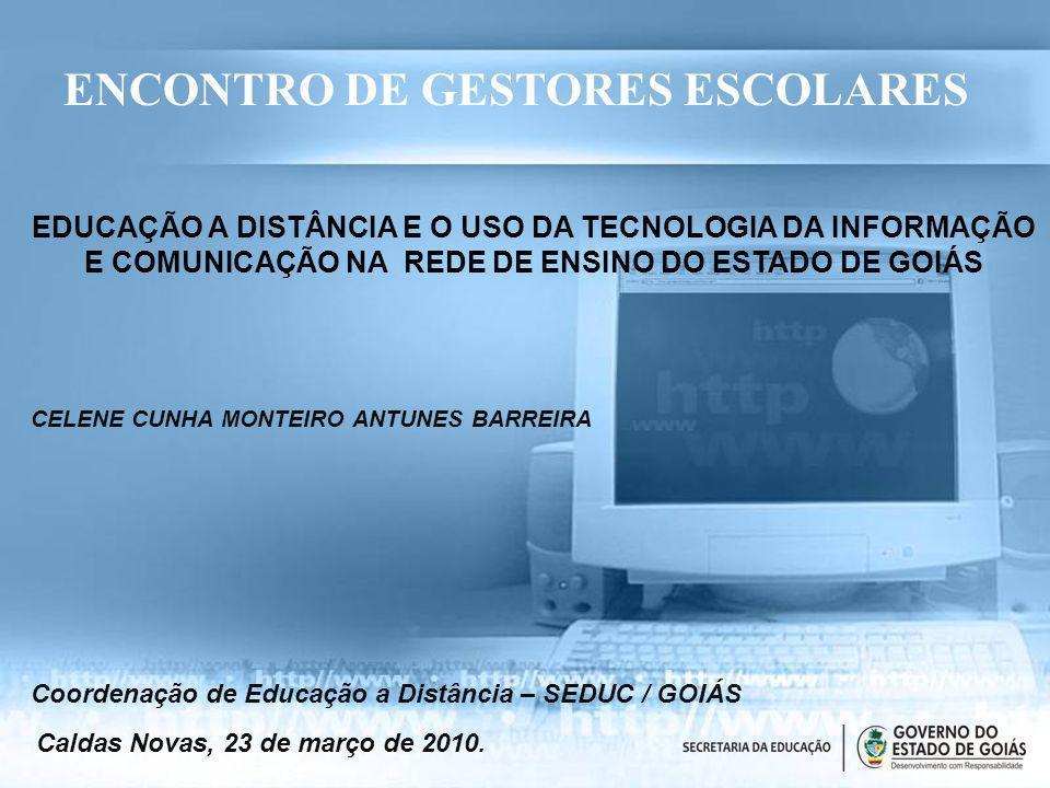 ENCONTRO DE GESTORES ESCOLARES