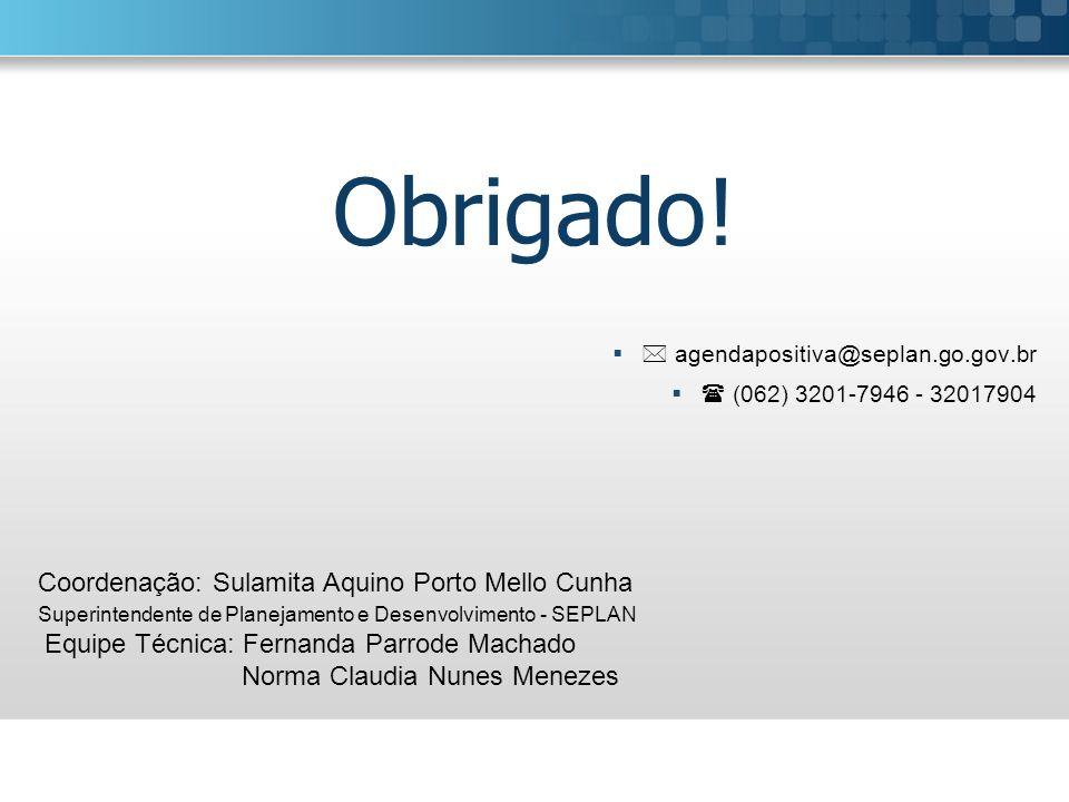 Obrigado! Norma Claudia Nunes Menezes