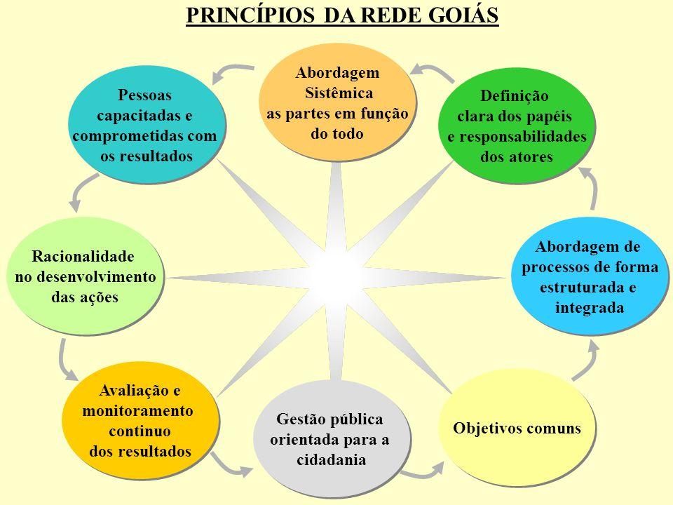 PRINCÍPIOS DA REDE GOIÁS
