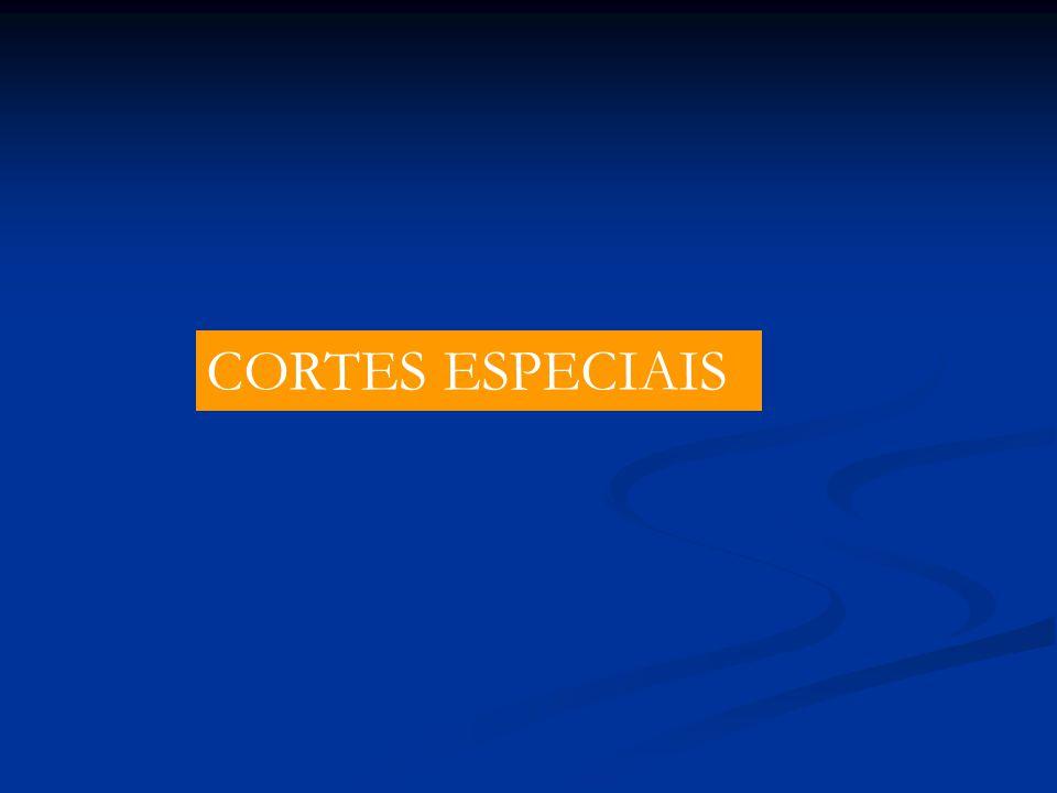 CORTES ESPECIAIS
