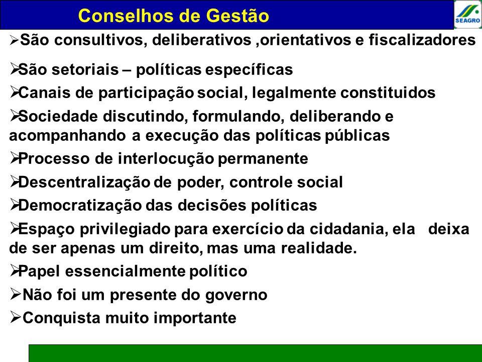 CONSELHOS DE GESTÃO Conselhos de Gestão Júlio César de Moraes