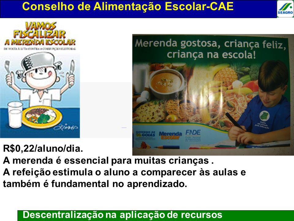 Conselho de alimentação escolar-CAE