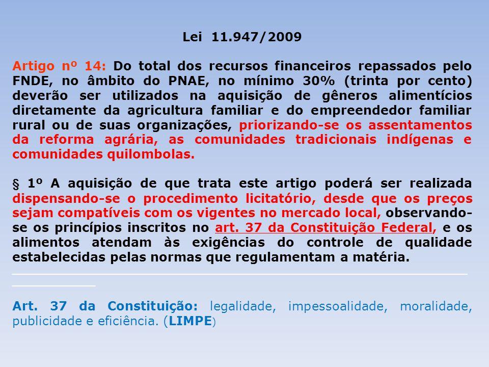 26/08/09 Lei 11.947/2009.