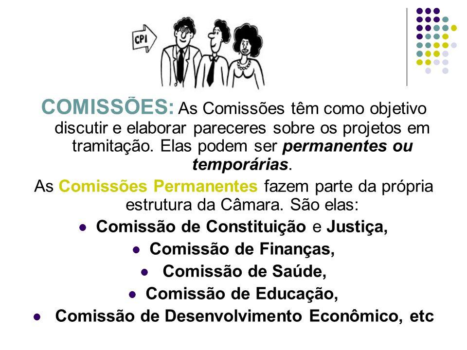 Comissão de Desenvolvimento Econômico, etc