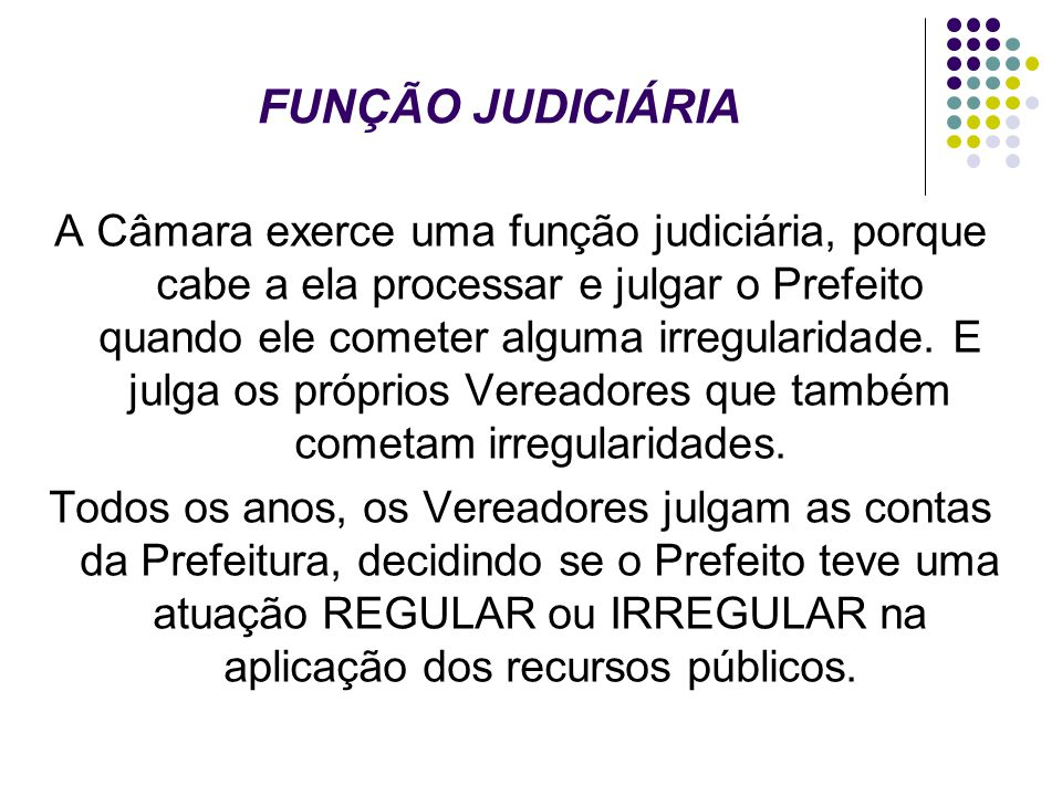 FUNÇÃO JUDICIÁRIA