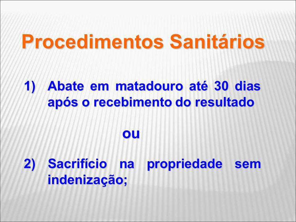 Procedimentos Sanitários