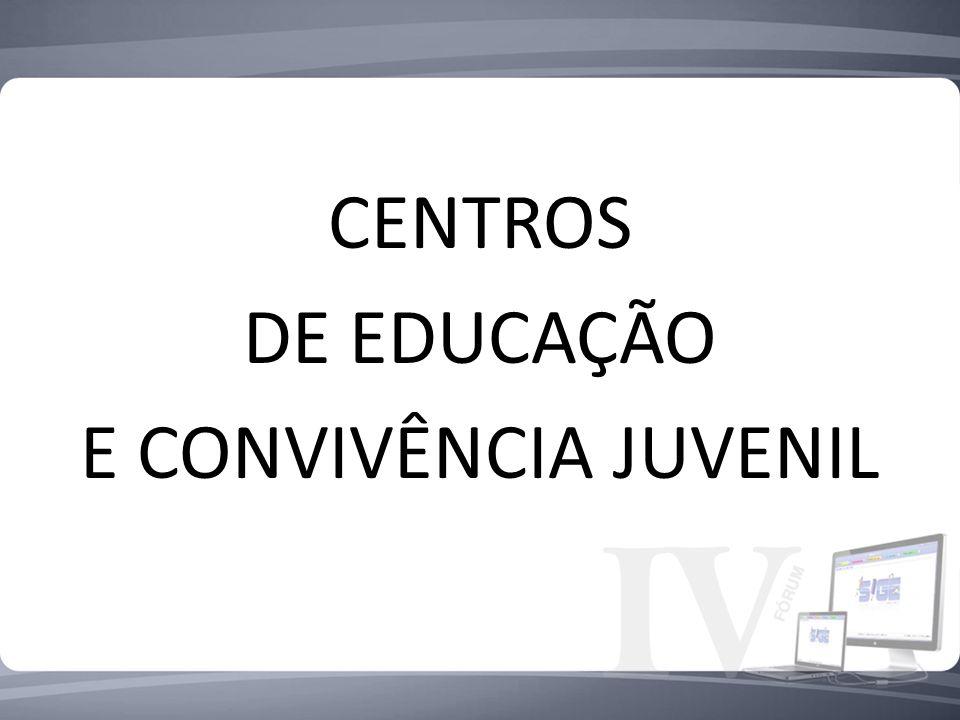 CENTROS DE EDUCAÇÃO E CONVIVÊNCIA JUVENIL