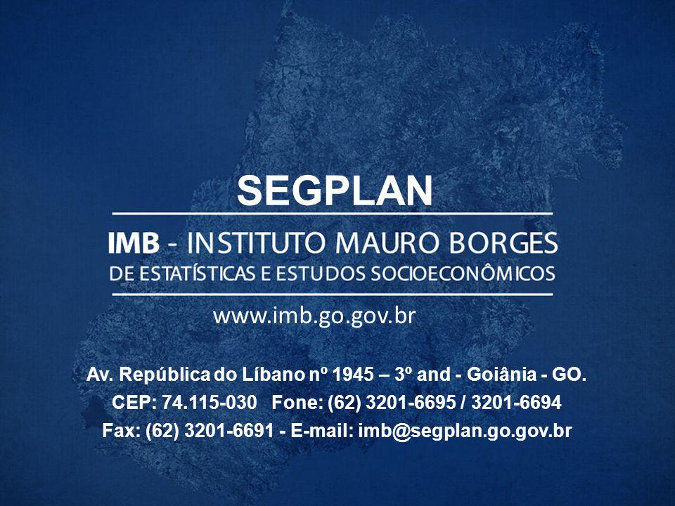 SEGPLAN www.imb.go.gov.br