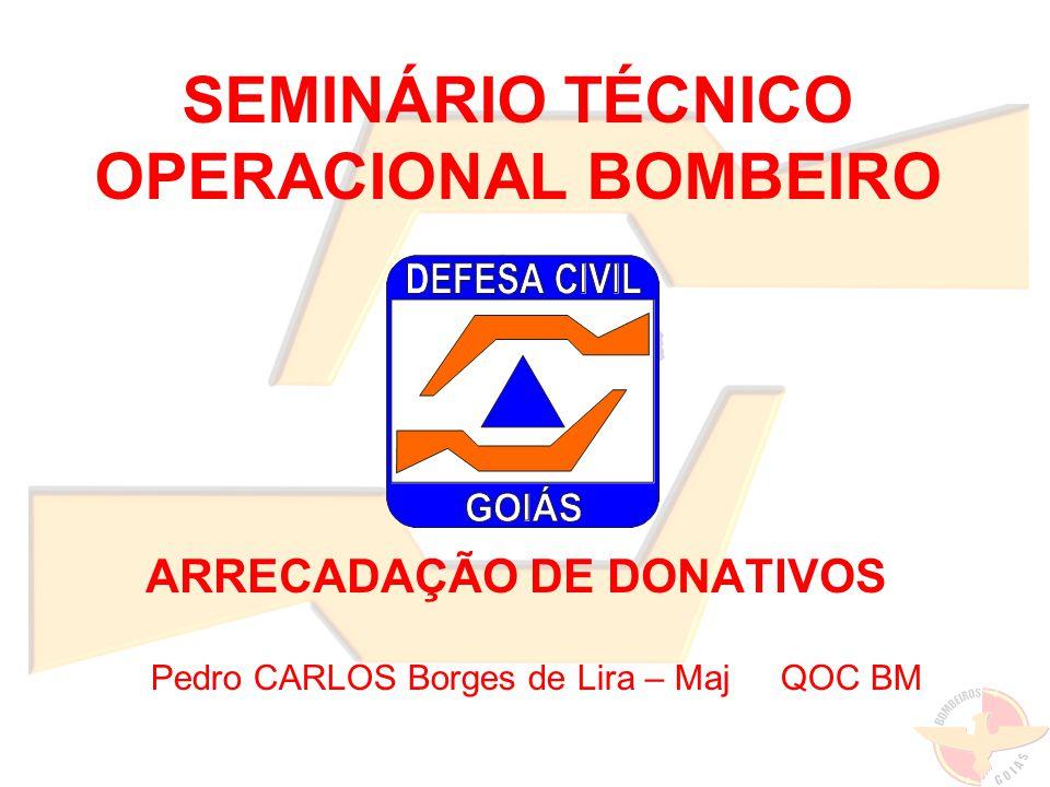 SEMINÁRIO TÉCNICO OPERACIONAL BOMBEIRO