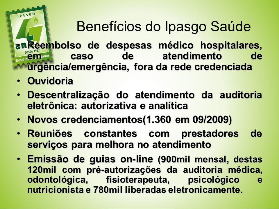 Benefícios do Ipasgo Saúde