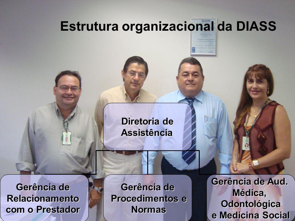 Estrutura organizacional da DIASS