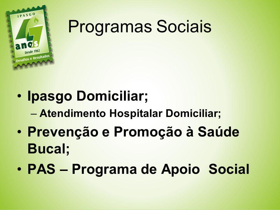 Programas Sociais Ipasgo Domiciliar;