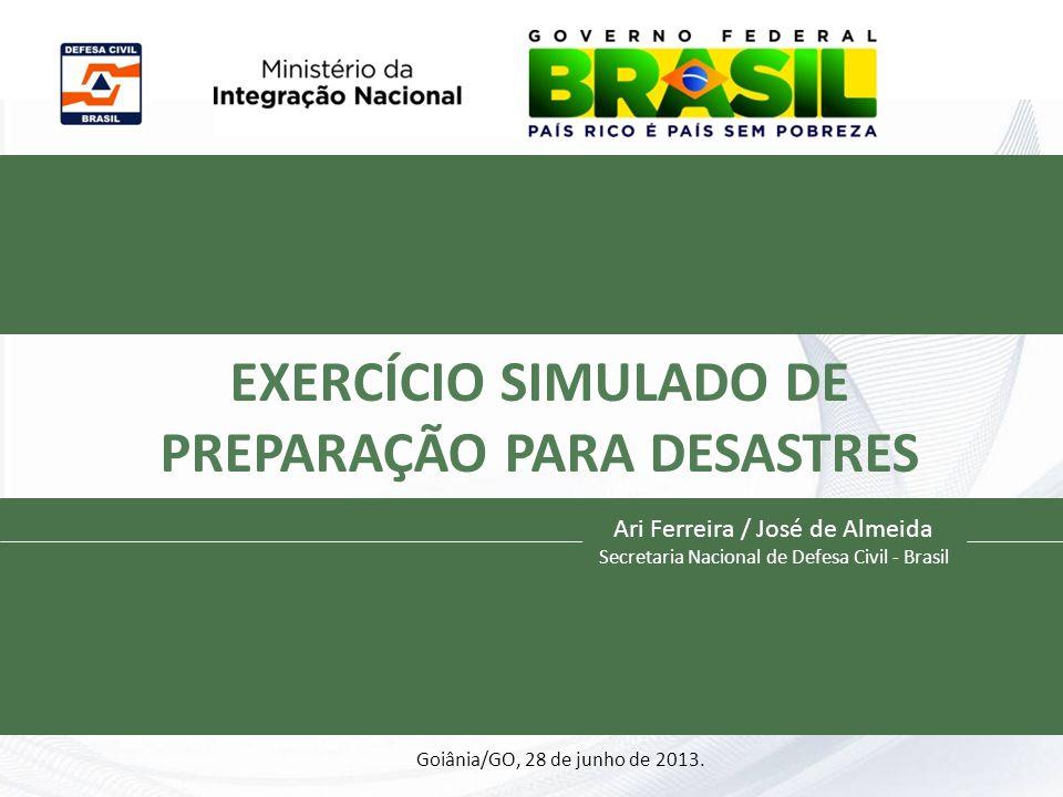 EXERCÍCIO SIMULADO DE PREPARAÇÃO PARA DESASTRES