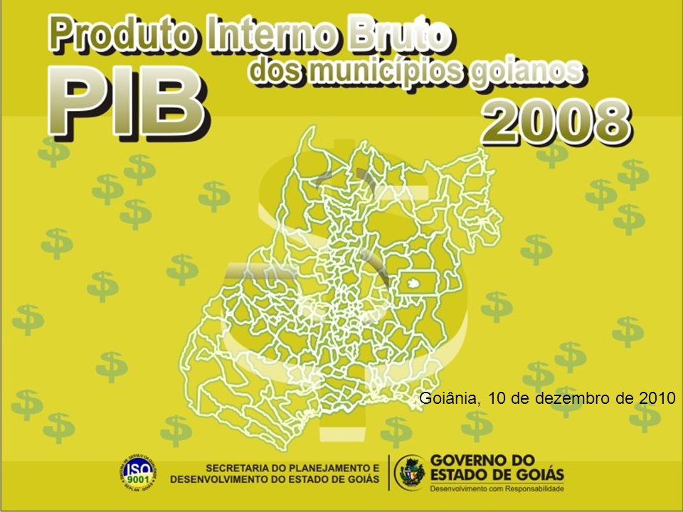Goiânia, 10 de dezembro de 2010