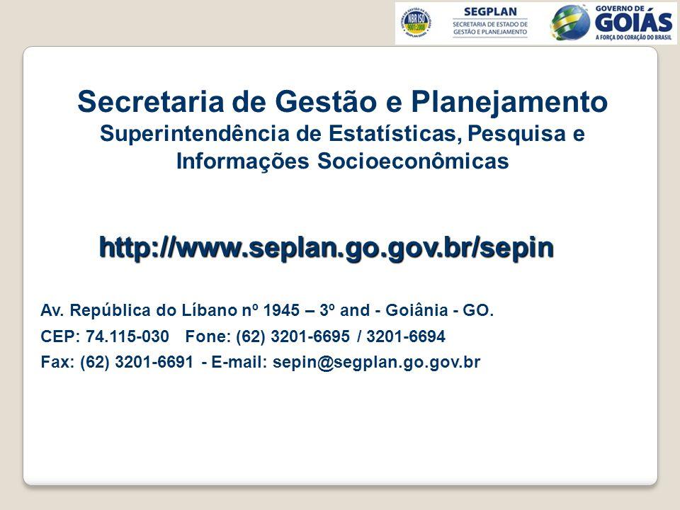 Secretaria de Gestão e Planejamento