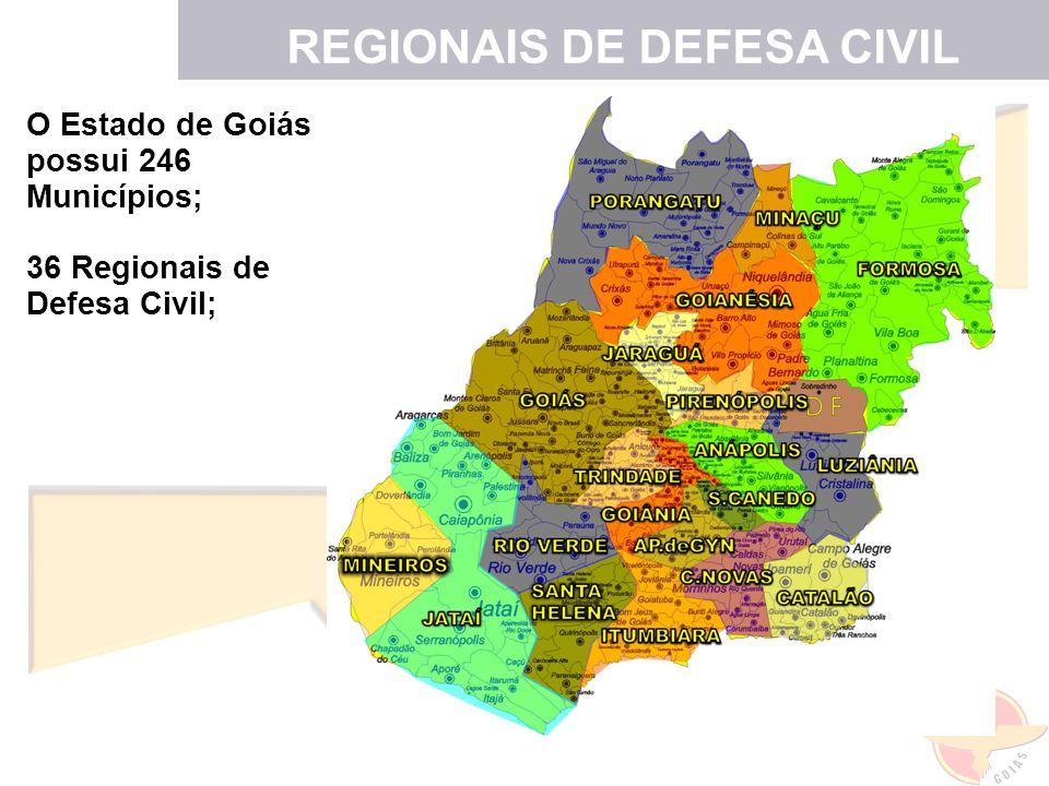 REGIONAIS DE DEFESA CIVIL