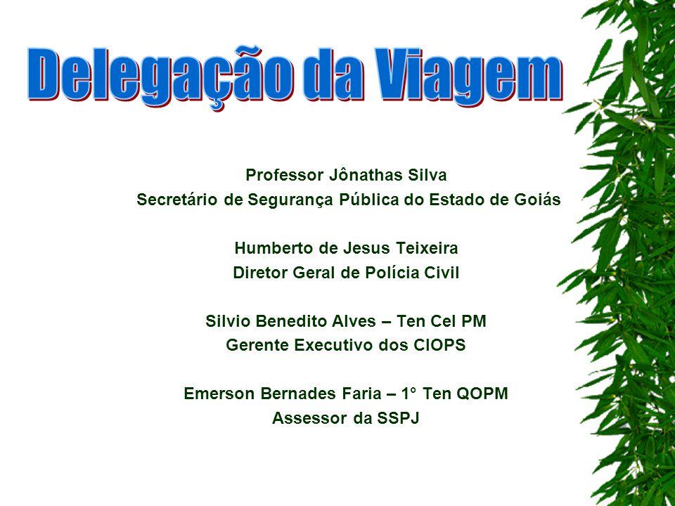 Delegação da Viagem Professor Jônathas Silva