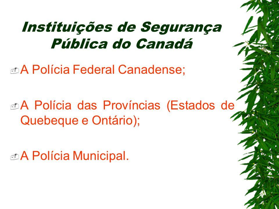 Instituições de Segurança Pública do Canadá
