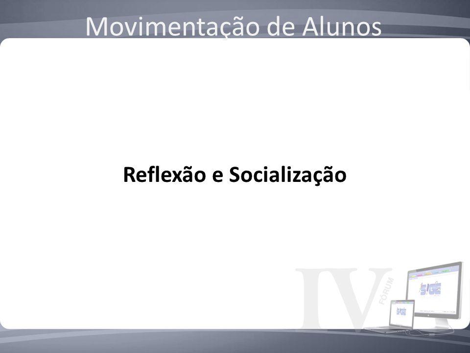 Reflexão e Socialização