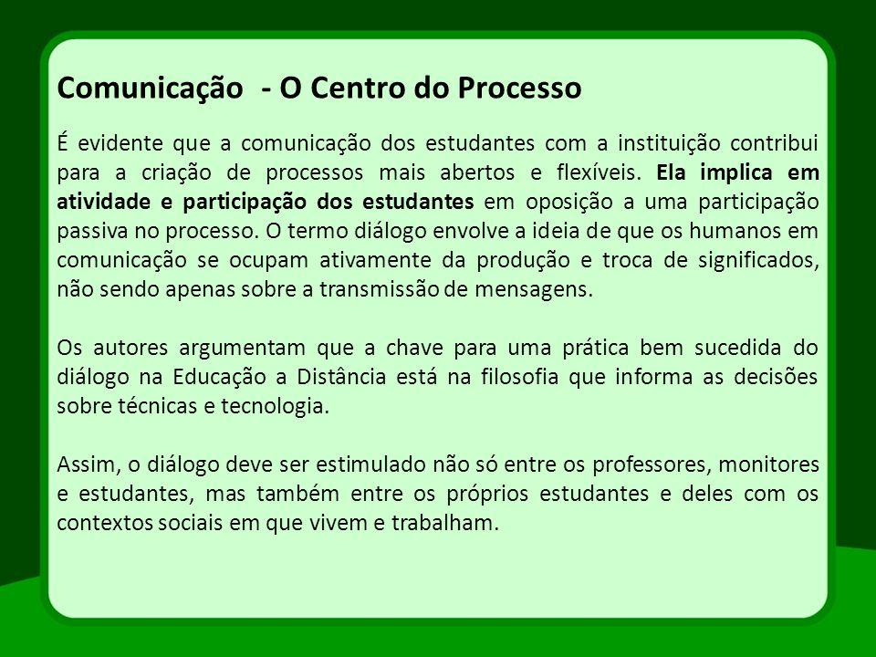 Comunicação - O Centro do Processo
