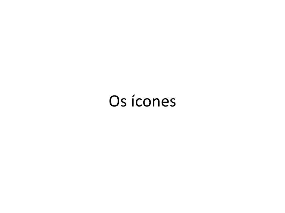 Os ícones