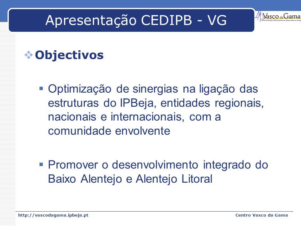 Apresentação CEDIPB - VG