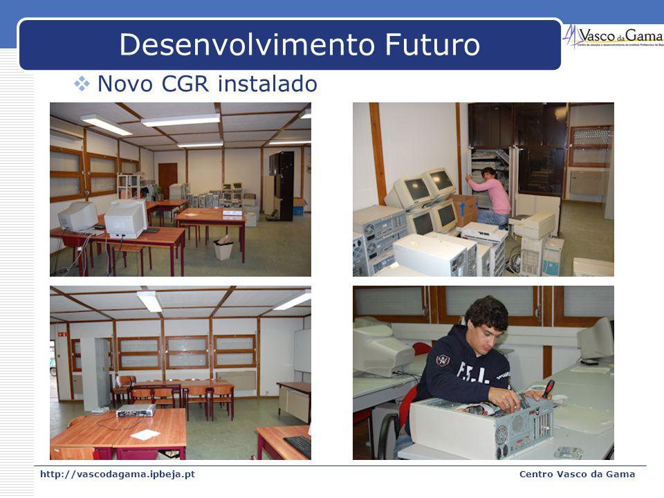 Desenvolvimento Futuro