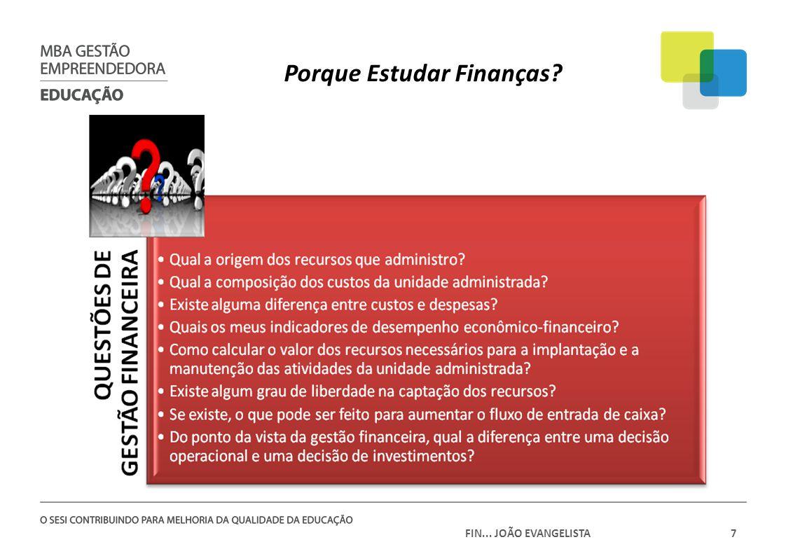 Porque Estudar Finanças