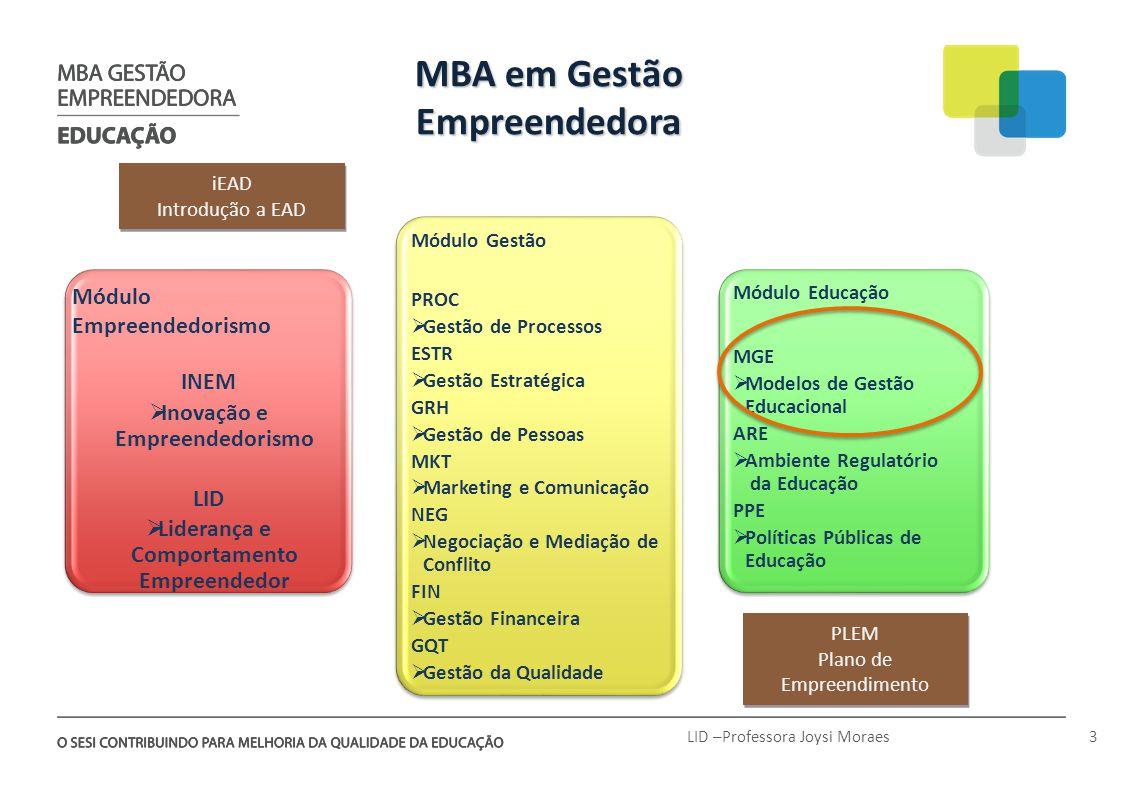 MBA em Gestão Empreendedora