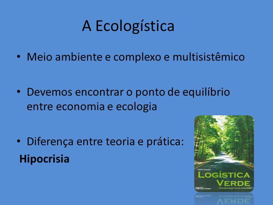 A Ecologística Meio ambiente e complexo e multisistêmico