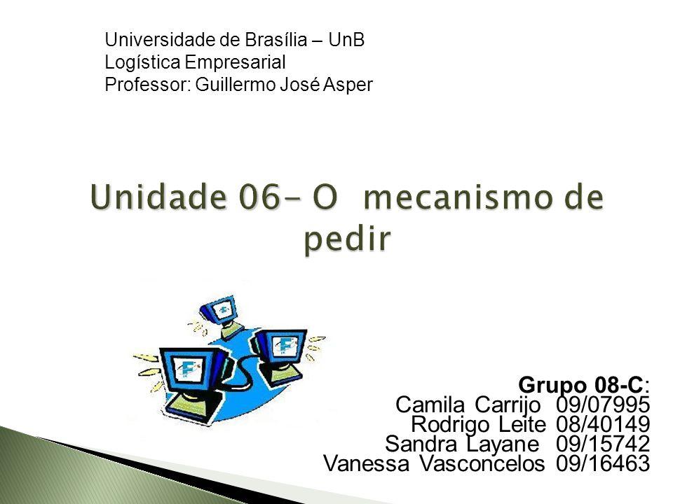 Unidade 06- O mecanismo de pedir