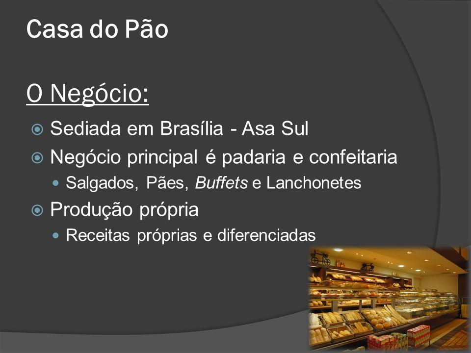 Casa do Pão O Negócio: Sediada em Brasília - Asa Sul