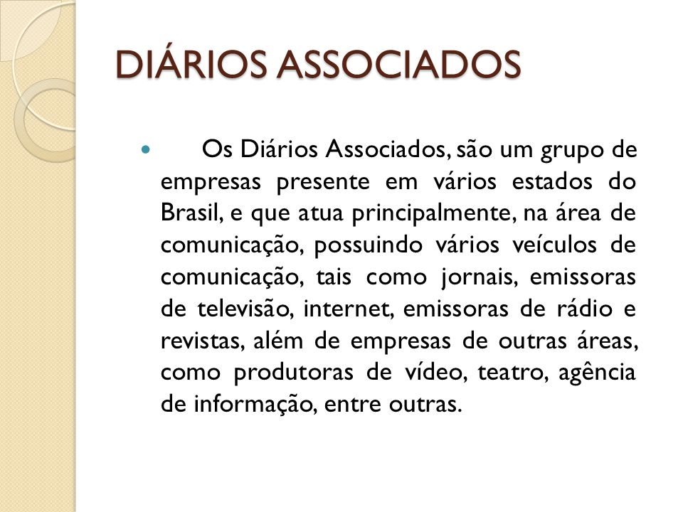 DIÁRIOS ASSOCIADOS