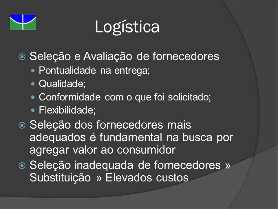 Logística Seleção e Avaliação de fornecedores
