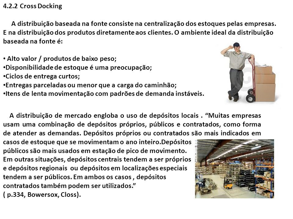 4.2.2 Cross Docking