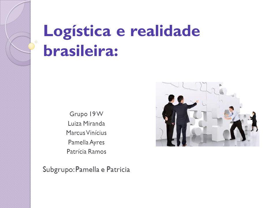 Logística e realidade brasileira:
