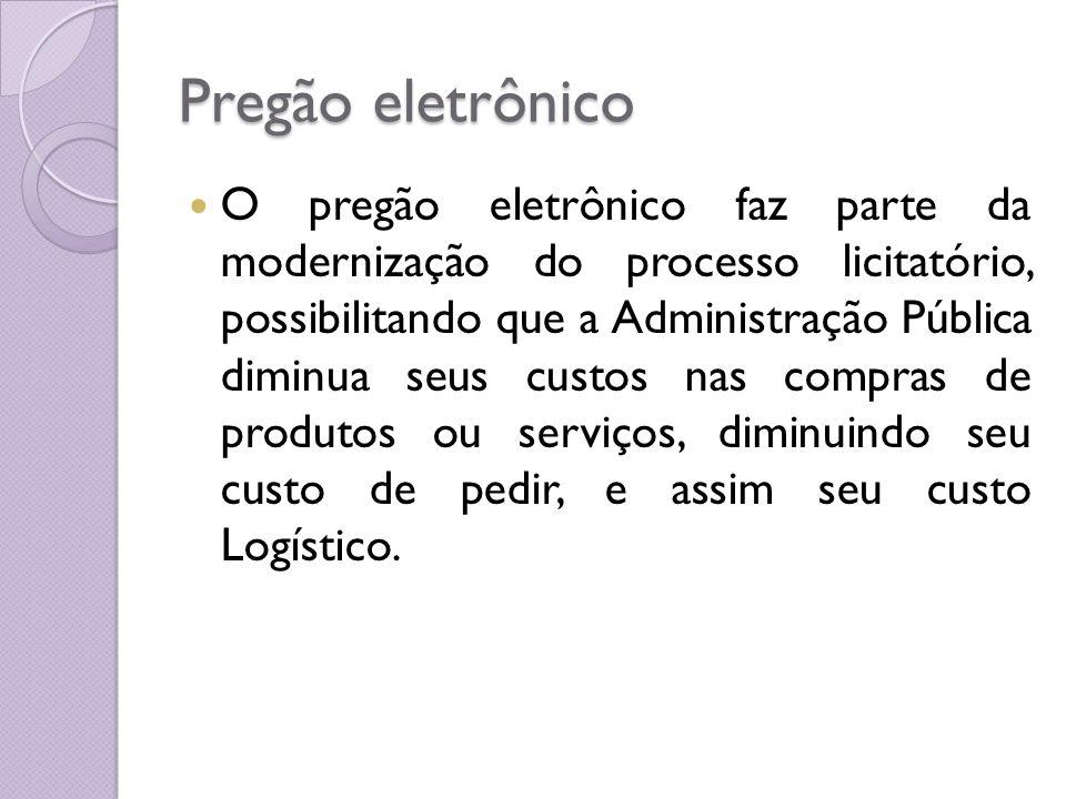 Pregão eletrônico