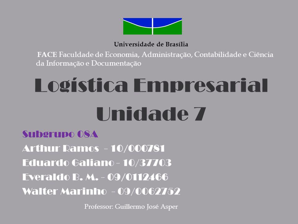 Logística Empresarial Unidade 7