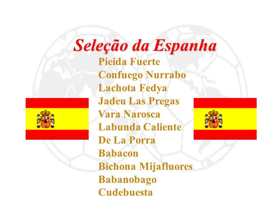 Seleção da Espanha Confuego Nurrabo Lachota Fedya Jadeu Las Pregas