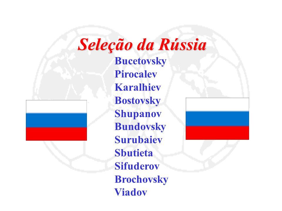 Seleção da Rússia Bucetovsky Pirocalev Karalhiev Bostovsky Shupanov