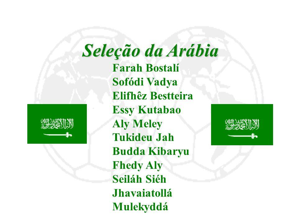 Seleção da Arábia Sofódi Vadya Elifhêz Bestteira Essy Kutabao