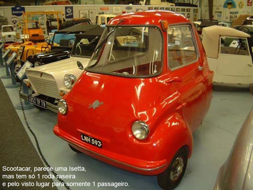 Scootacar, parece uma Isetta,
