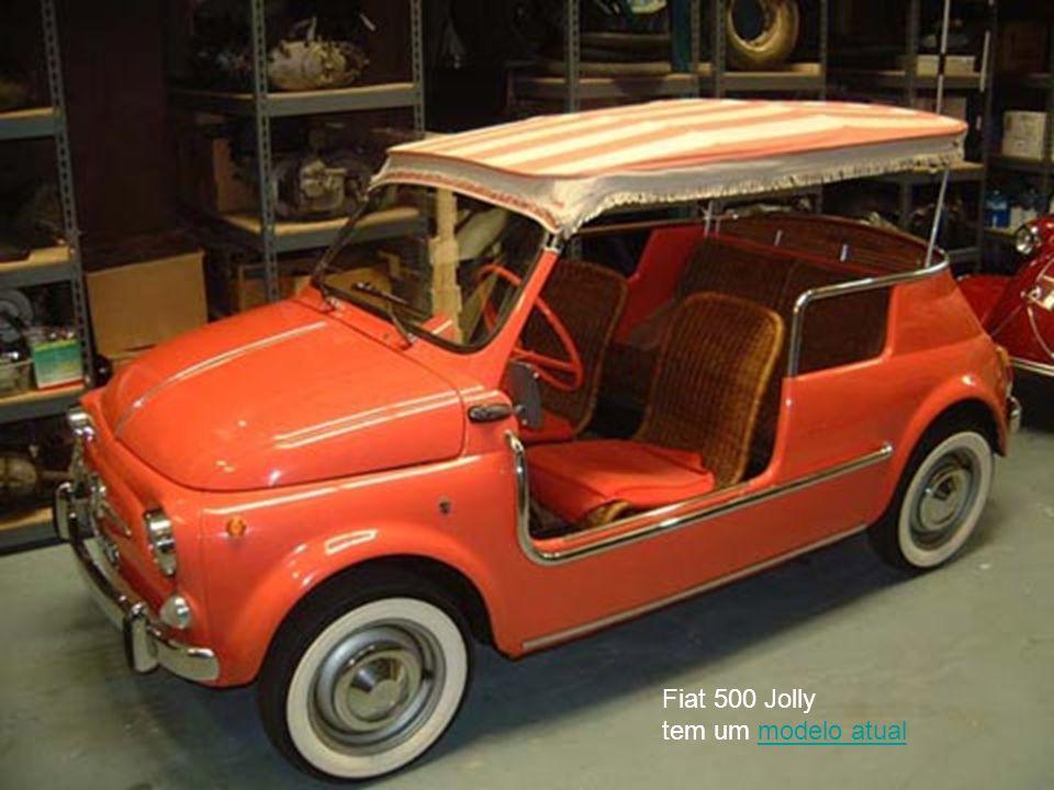 Fiat 500 Jolly tem um modelo atual