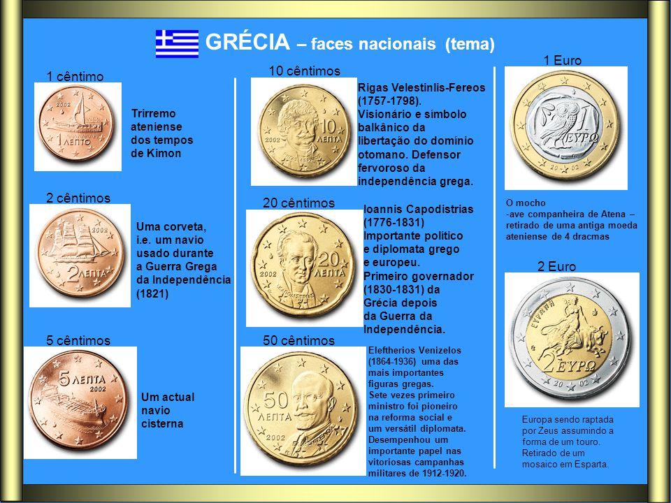 GRÉCIA – faces nacionais (tema)